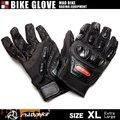 硬質プロテクターモデル バイクグローブ 手袋 黒 XLサイズ【3色/3サイズ】【翌日配達】【配送種別:B】