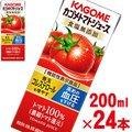 カゴメ トマトジュース 食塩無添加 200ml×24本 【機能性表示食品】【野菜ジュース kagome】【p5】【jo_62】
