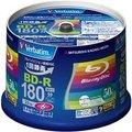 三菱化学メディア VBR130RP50V4 BD-R 録画用 130分 1-6倍速 スピンドルケース50枚パック ワイド印刷対応