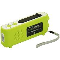 小泉成器 SAD-8701/ G ダイナモラジオ グリーン