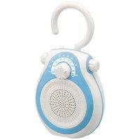 小泉成器 SAD-7712/ A シャワーラジオ ブルー