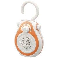 小泉成器 SAD-7712/ D シャワーラジオ オレンジ