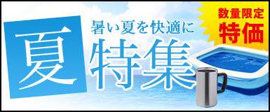 暑い夏を快適に!涼風、旅行アイテム大特集!