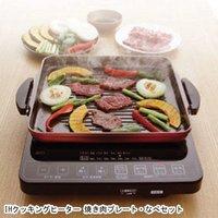 【カード決済OK】アイリスオーヤマ IHクッキングヒーター 焼き肉プレート・なべセット IHC-T51S-B