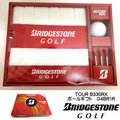 ブリヂストン TOUR B330RX G4BR1R ゴルフボールギフト ボール1個 タオル1枚 ティー3本【ゆうパケット不可】