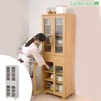食器棚 北欧風 Lycka land(リュッカ ランド) 幅60cm ( 送料無料 キッチン収納 カップボード )