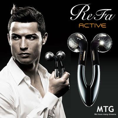 商品画像:MTG ReFa ACTIVE リファ アクティブ RF-AC1929B-N ブラック 【送料無料】(ReFa ACTIVE MTG Refa)