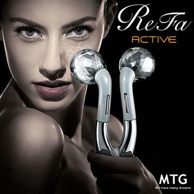 商品画像:MTG ReFa ACTIVE リファ アクティブ RF-AC1929B-W ホワイト 【送料無料】(ReFa ACTIVE MTG Refa)