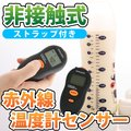 【送料無料】【温度計 非接触式】赤外線温度計 温度計センサー 小型 非接触赤外線温度センサー 赤外線 デジタル ミルク 温度 表面 測定 非接触 電子 簡単 計測 | ER-INFR[ゆうメール配送][送料無料]
