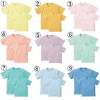 【SALE】ユナイテッドアスレ 5001 5.6オンス S/S Tシャツ パステルカラーUnited Athle 5001 5.6oz S/S TEE Pastel color
