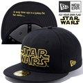スターウォーズ×ニューエラ 5950キャップ アンダーバイザー スターウォーズロゴ ブラック ブラック オンブレゴールド ブラック オンブレゴールド STAR WARS×New Era 59FIFTY Cap Under Visor STAR WARS Logo Black Black Ombre Gold Black Ombre Gold