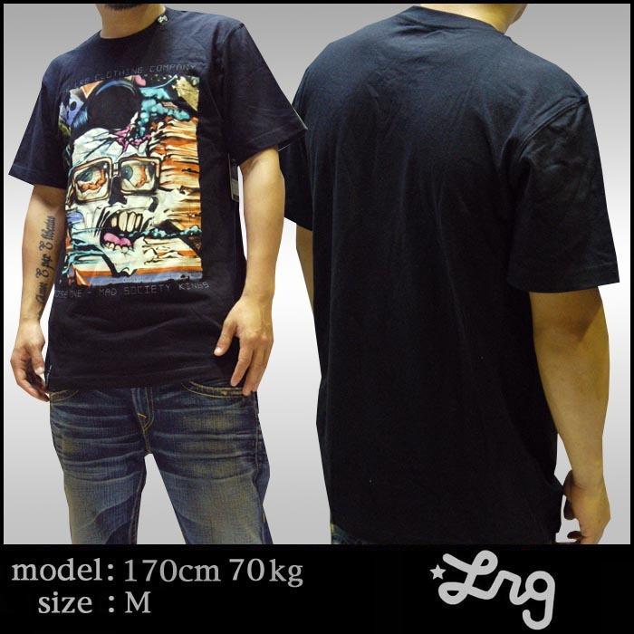 LRG メンズ 半袖 Tシャツ アーティストシリーズ ブラック ストリート アメカジ HIPHOP.