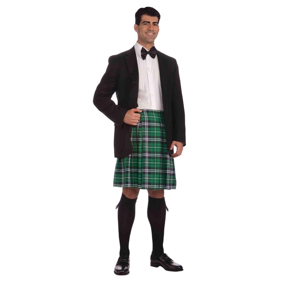 ... 紳士 男性用キルト スカート