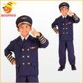 ハロウィン パイロット 制服 子供 コスチューム キッズ 服 コスプレ 衣装 仮装 機長 キャプテン 操縦士