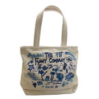 THE FUNNY COMPANY (ザ・ファニーカンパニー) トートバッグ SMALL FC332 BEIGE/BLUE『送料無料』