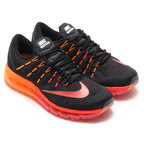 NIKE AIR MAX 2016(ナイキ エア マックス 2016)BLACK/MULTI-COLOR-NOBLE RED-TOTAL CRIMSON-BRIGHT CITRUS【メンズ レディース スニーカー】16FA-I