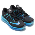 NIKE WMNS AIR MAX 2016(ナイキ ウィメンズ エア マックス 2016)BLACK/MULTI-COLOR-DEEP ROYAL BLUE-BLUE GREY-GAMMA BLUE【レディース スニーカー】16FA-I