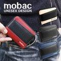 コインケース 小銭入れ メンズ ラウンドファスナー メッシュエンボス ツートンカラー ジッパー mobac DM便 送料無料