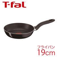T-fal ティファール フライパン ハードチタニウム ブラック フライパン 19cm 【IH不可】 D47402