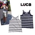 【SALE30%off】LUCA(ルカ)天竺ボーダーキャミ 90-120
