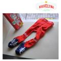 【メール便不可】BRAVELING(ブラベリング)スニーカータイツ 0-3歳 ベビー キッズ ギフト