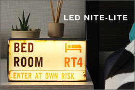 LED NITE-LITE London センサーライト