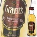 ミニチュア グランツファミリーリザーブ 40度 50ml ミニサイズ 正規 ブレンデッドスコッチウイスキー