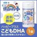 <訳ありアウトレット 賞味期限2017年12月>【送料無料】ハッピープラス こどもDHA 60粒 サプリメント キッズ DHA EPA 青魚 必須脂肪酸 わけあり ワケアリ