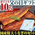 【父の日ギフト ポイント10%】特大うなぎ蒲焼き1本・蒲焼きカット2枚100g【ウナギ 鰻 贈り物 プレゼント】