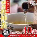 ゴクゴク飲める♪国産 杜仲茶 ティーバッグ 1袋 40袋(20袋×2個) 水出し もできます【送料無料】【とちゅう茶】【健康茶】※代金引換不可 F