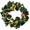 【送料無料 /ギフトOK】 フルーツリース 壁掛けフラワー リース 光触媒 造花 アートフラワー