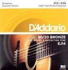 D'Addario EJ14 Bronze Bluegrass L.Top/M.Bottom アコースティックギター弦