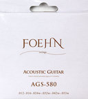 FOEHN AGS-580 Acoustic Guitar Strings Light 80/20 Bronze アコースティックギター弦 12-53
