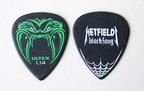 JIM DUNLOP HETFIELD BLK 1.14 ギターピック×12枚