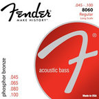 Fender 8060 Acoustic Bass Strings Phosphor Bronze 45-100 アコースティックベース弦