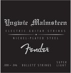 Fender Yngwie Malmsteen Signature Electric Guitar Strings ballet 8-46 エレキギター弦×3セット