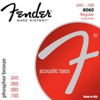 Fender 8060 Acoustic Bass Strings Phosphor Bronze 45-100 アコースティックベース弦×2セット