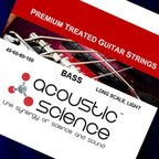 Acoustic Science LACSEB45100 Nickel Light Long scale エレキベース弦