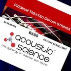 Acoustic Science LACSEB45100XL Nickel Light Extra Long scale エレキベース弦×2セット