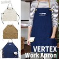 VERTEX ワークエプロン エプロン 丈短め おしゃれ 台所 調理 ガーデニング 修理 作業 VERTEX A202