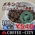 メキシコ ニューメキシコ農園・レインフォレスト認証 100g 焙煎コーヒー豆