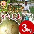 【送料無料】淡路島新たまねぎ #かくし玉 3K#