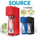 【SodaStream公式ショップ】500mlボトル&シロップ付き♪ ソース デラックス スターターキット <炭酸水メーカー>
