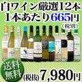 【送料無料】1本あたり665円(税別)!採算度外視の大感謝!厳選白ワイン12本セット