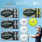 【2014年新商品】ダンロップゼクシオエアロスピンゴルフボール<1ダース12個入り>「XXIOAEROSPIN」【あすつく対応】
