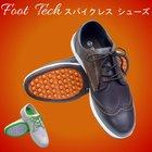 フットテックスパイクレスゴルフシューズFT-303クロコダイル調デザインタウンシューズとしても最適!【あすつく対応】