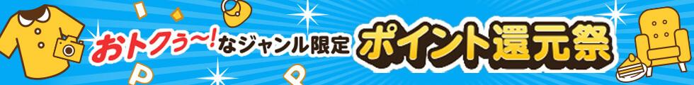 ジャンル別ポイント還元祭