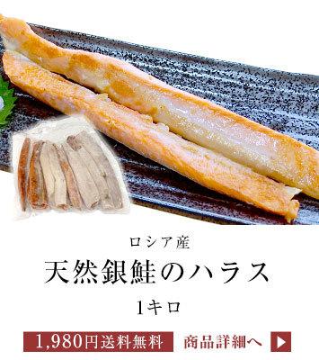銀鮭ハラス1P