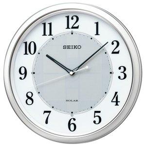 人気カラーの SEIKO セイコー 掛け時計 電波 ソーラー アナログ オフィス 壁掛け SF243S スイープ おしゃれ【お取り寄せ】, 泡盛倶楽部 b9c47c78