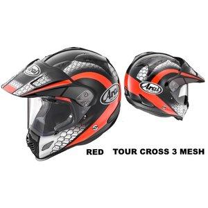 【最安値に挑戦】 ARAI( RED アライ ) TOUR TOUR CROSS 3 CROSS MESH RED Size57-58 支払い限定(または銀行振込) ARAI TOUR CROSS 3 MESH RED Size57-58, イシカリグン:ebc077b7 --- turkeygiveaway.org